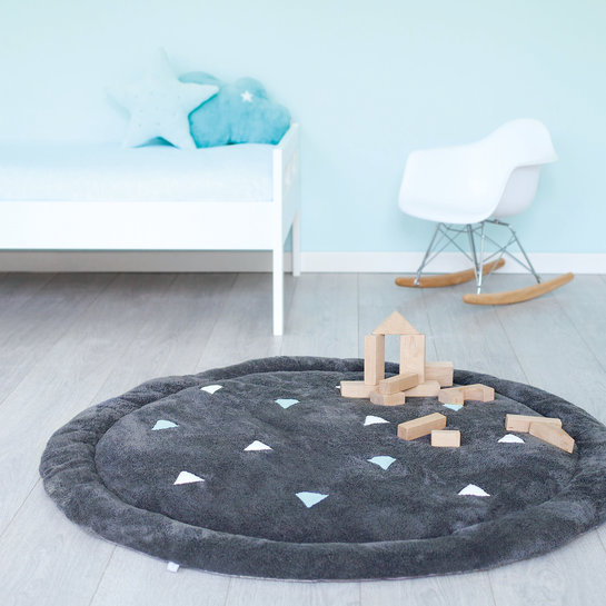 ambiance 224DISCO69SF Deco playmat Softy Ø105cm DISCO Malibu
